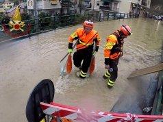 Mal tiempo en Liguria.