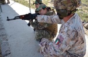 Soldados italianos en Irak.