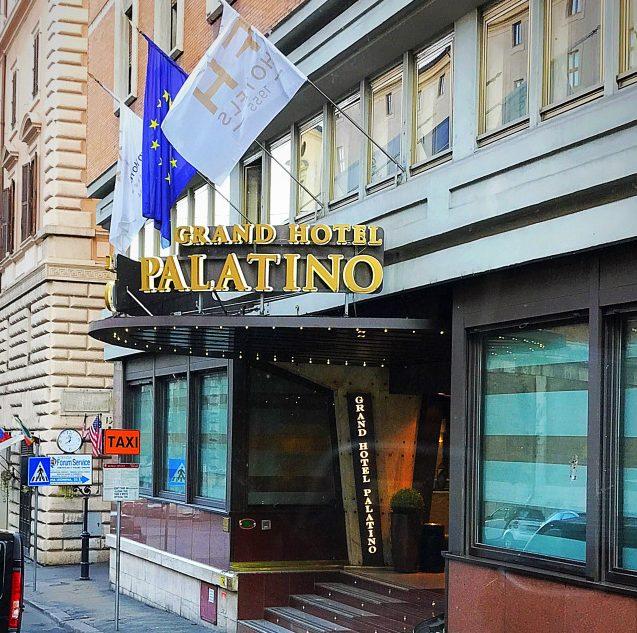 Hotel Palatino.