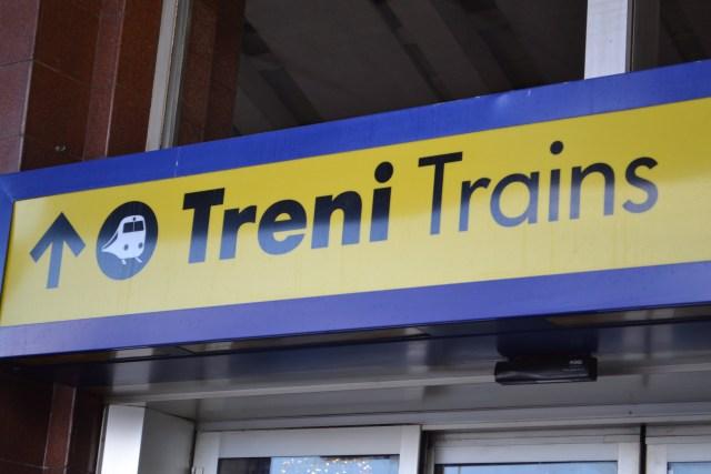Trenes.