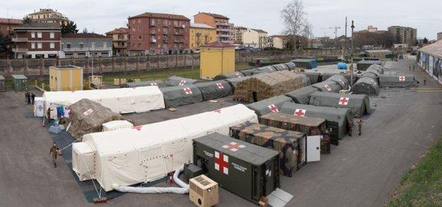 Hospital de guerra.