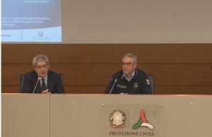 Conferencia de Prensa de Angelo Borreli (Foto: Captura YouTube Protezione Civile)