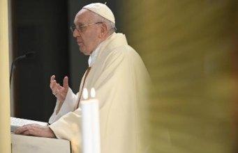 Misa del papa Francisco.