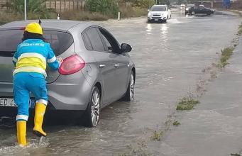 Inundaciones en Calabria (Foto: Protección Civil)