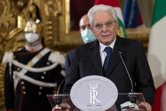 El Presidente Sergio Mattarella (Foto: Quirinale)