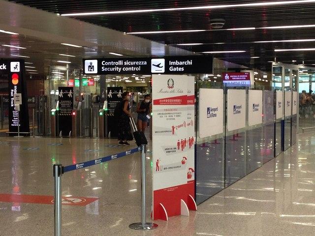 Controles en el Aeropuerto de Roma-Fiumicino (Foto: CAPTAIN RAJU, CC BY-SA 4.0 - Archivo)