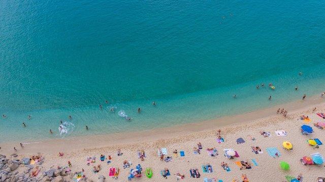 Las playas de Tropea, en Calabria (Foto: Pixabay - Archivo)