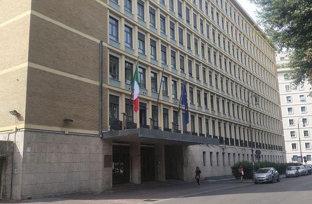 El Tribunal de Cuentas, en Roma (Foto: Carlo Dani, CC BY-SA 4.0 - Archivo)