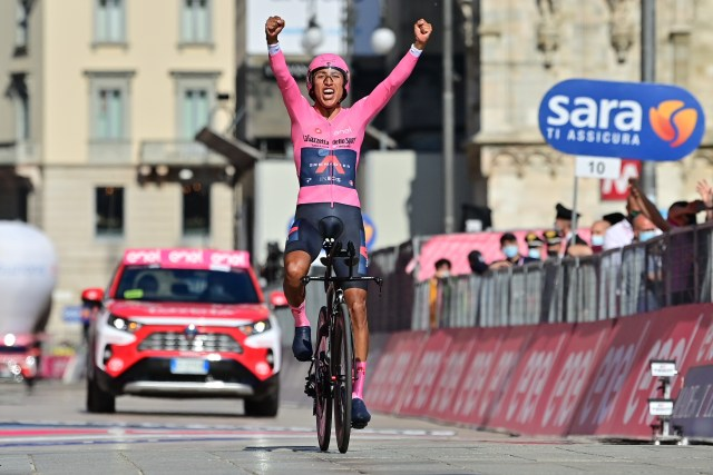 Egan Bernal, campeón del Giro de Italia 2021 (Foto: Twitter INEOS Grenadiers)