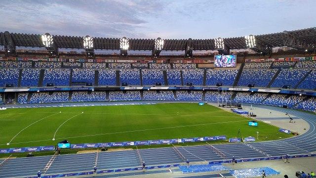 El Estadio Diego Armando Maradona, ex San Paolo, en Nápoles (Foto: Tarkus42, CC BY-SA 4.0 - Archivo)