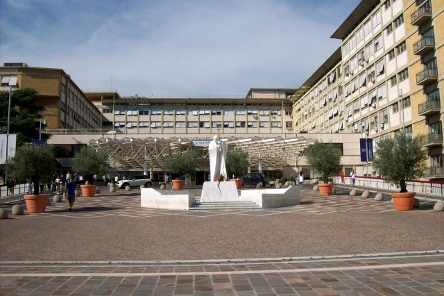 El Policlínico Agostino Gemelli, en Roma (Foto: Sergio D'Afflitto, CC BY-SA 3.0 - Archivo)