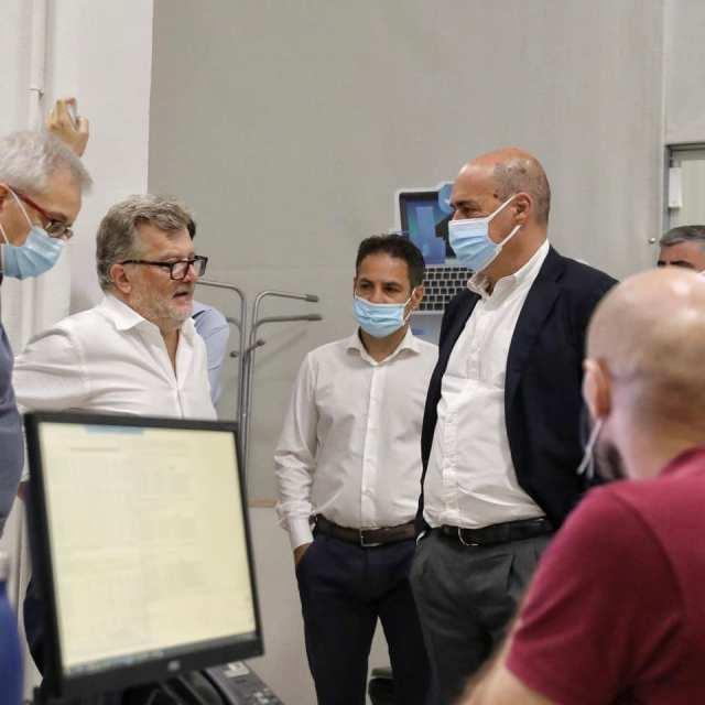 Zingaretti tras el ataque informático (Foto: Facebook N. Zingaretti)