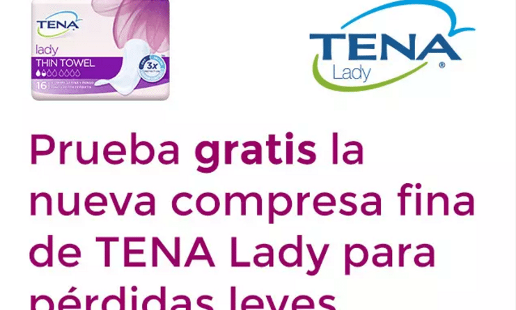 Pruebalo gratis TENA Lady
