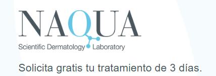 Tratamiento gratis 3 días Naqua