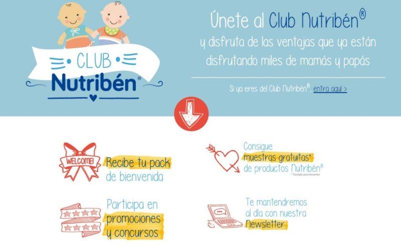 Muestras y regalos gratis con Nutriben