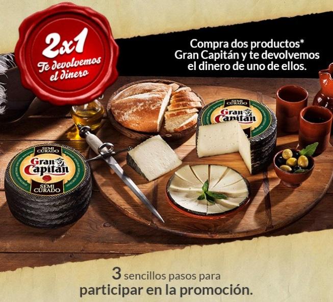 Promoción de quesos Gran Capitan