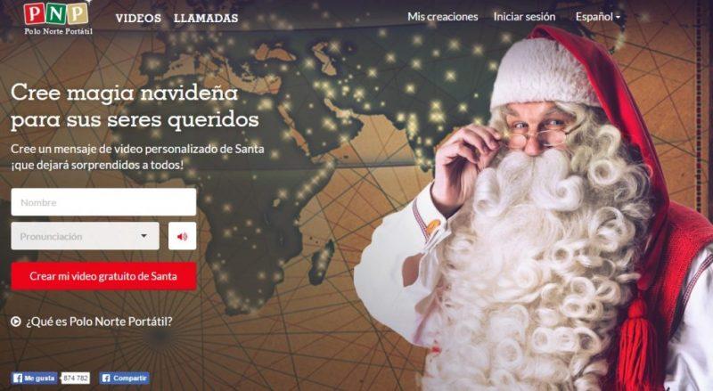 Papa Noel te felicita gratis la navidad
