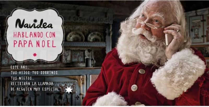 Recibe en casa la llamada de Papa Noel