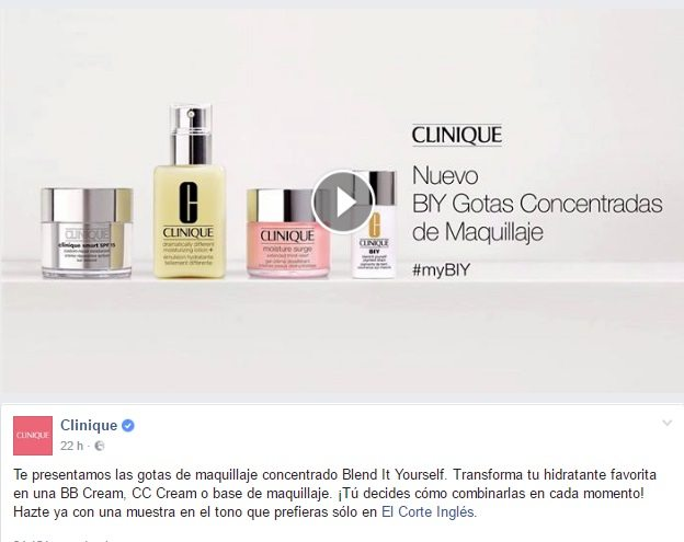 Muestras gratis de Clinique Blend It Yourself