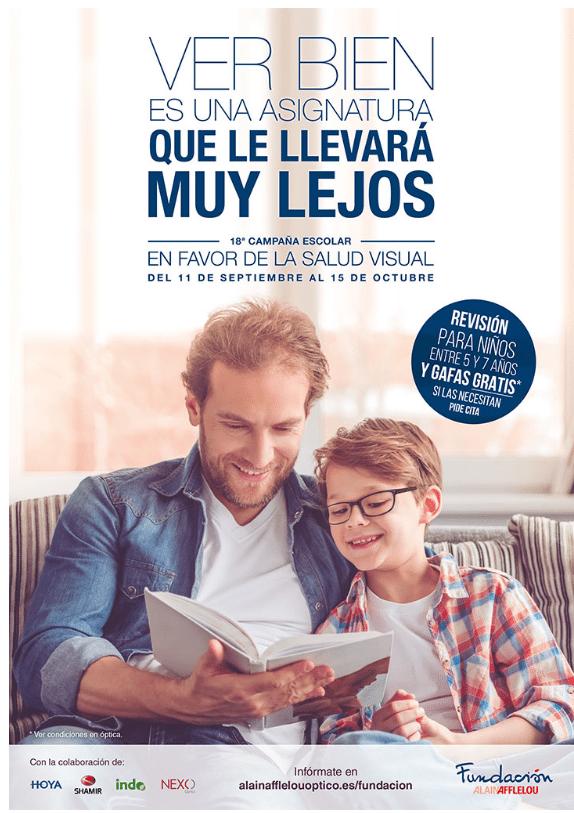 Campaña de gafas gratis Alain Afflelou 2017
