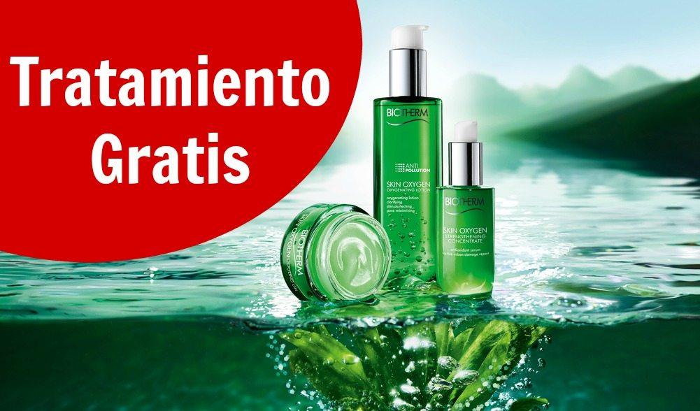 Tratamiento gratis de Biotherm Skin Oxygen