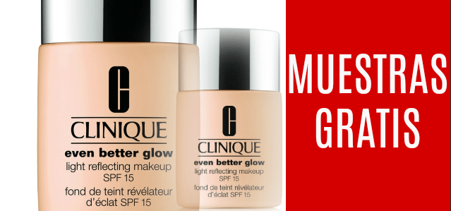 Muestras gratis de maquillaje Clinique