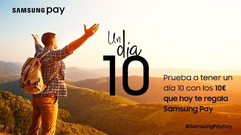 Consigue 10 euros con Samsung Pay Day