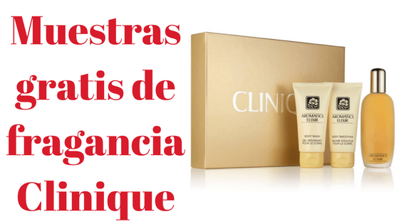Muestras gratis de fragancia Clinique