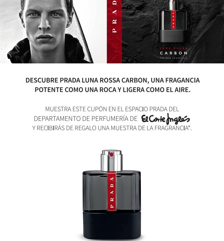 Muestras gratis de perfume Prada Luna Rossa Carbon
