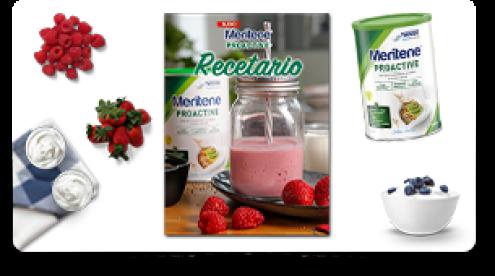 Muestras gratis de Meritene Mobilis + recetario gratis