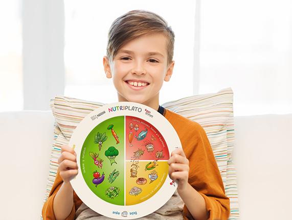 Nutriplato gratis de Nestle