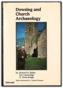 Cover of Dowsing and Church Archaeology (Bailey et al 1988).