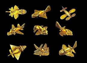 quimbaya_insects_fish