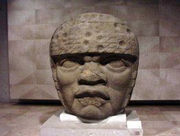 Huge Olmec Head
