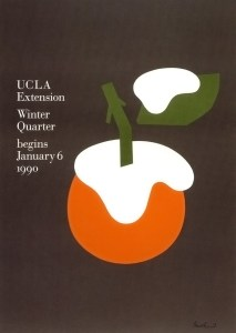 Affiche Ucla Winter de 1990 de Paul Rand