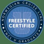 NCL Freestyle certifikát