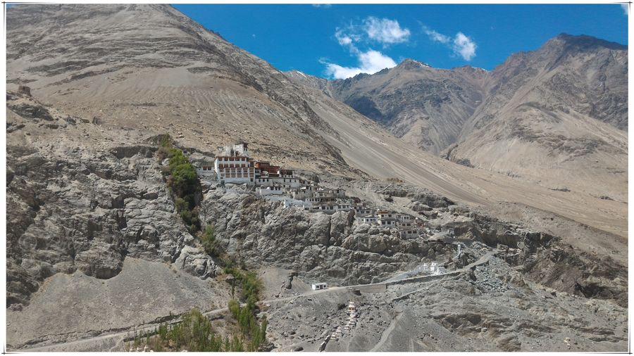 Diskit Gompa (monastery) in Nubra Valley