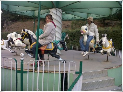Just for fun on the carousel