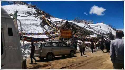 Khardung-la Pass is of strategic important to India