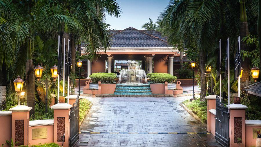 The Front Entrance. Courtesy Park Hyatt Goa Resort And Spa
