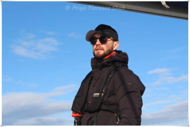 Our Skipper Tobias