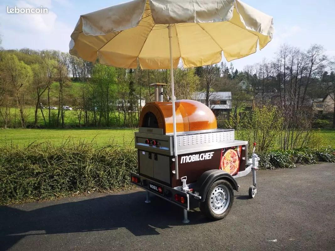 Luxstar Luxstar Remorque Food Truck Pizza Mini Mobile Letzshop