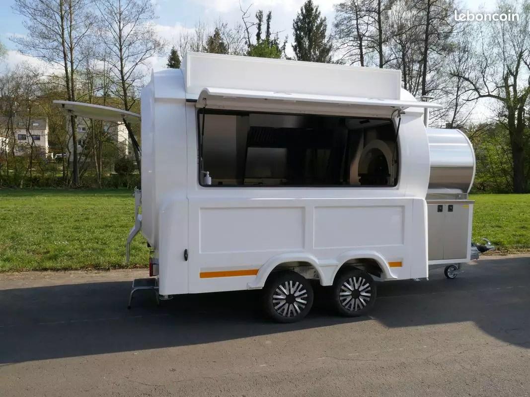 Luxstar Luxstar Remorque Ronde Snack Food Truck Letzshop