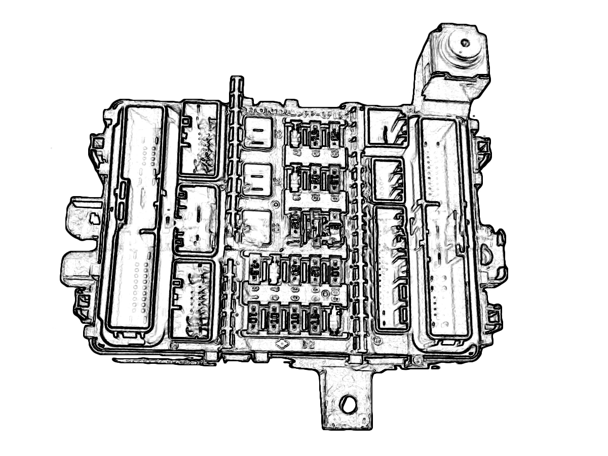 Honda Civic Under Dash Fuse Box Diagram