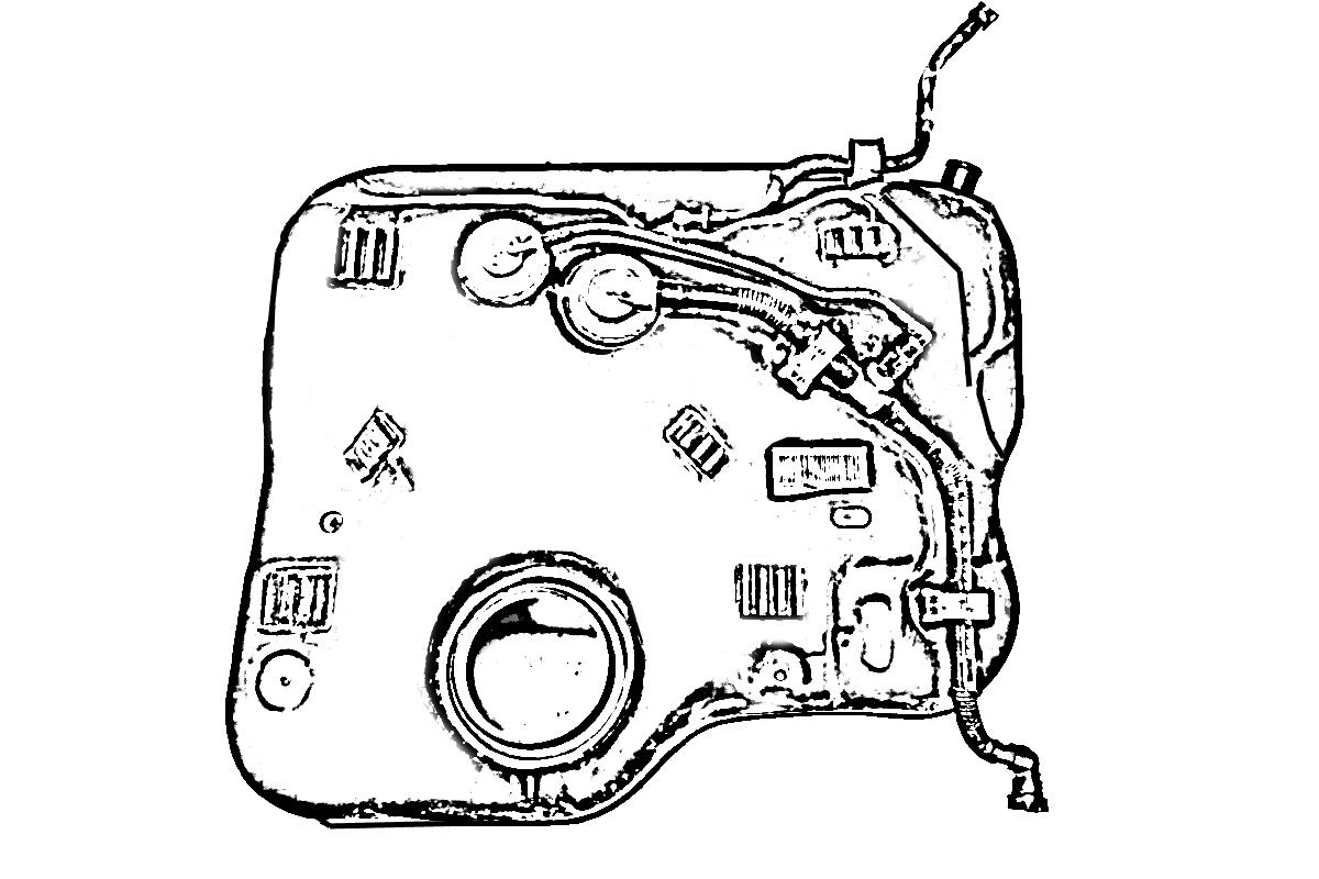 Honda Civic Gas Fuel Tank