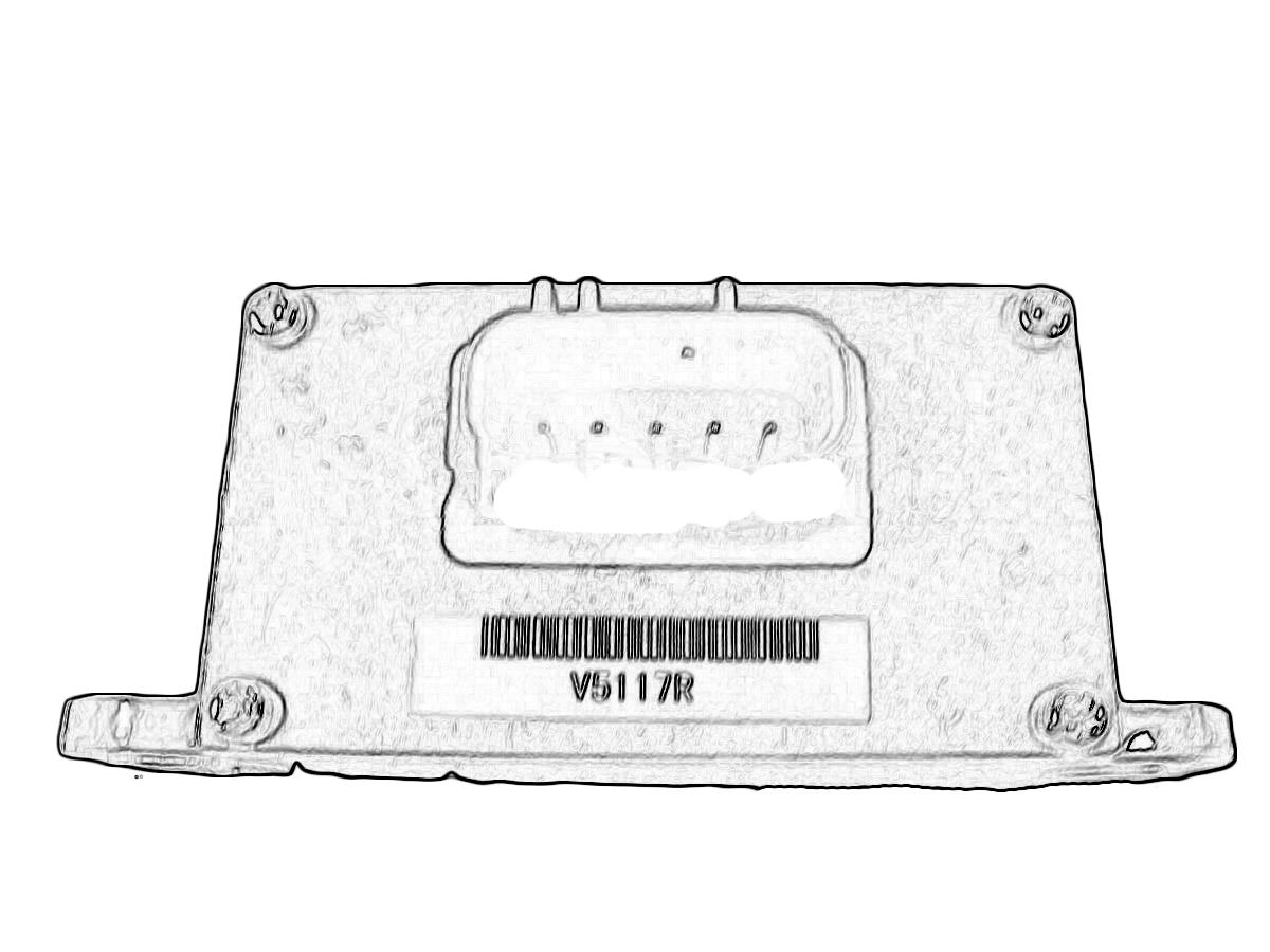 Infiniti Fx50 Front Driver Abs Sensor 1ca0b