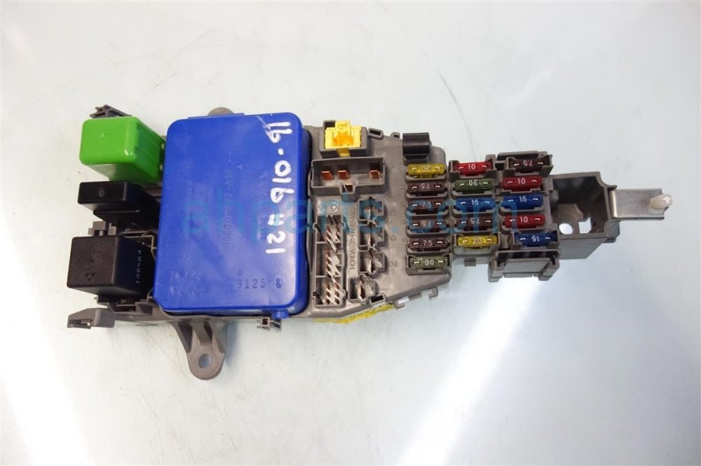 medium resolution of 1999 acura cl dash fuse box with integrated module 38600 sv7 a12