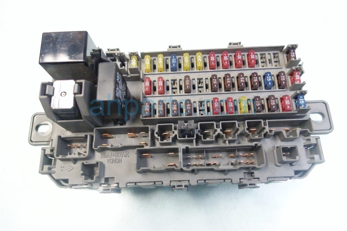 hight resolution of 2001 honda cr v dash fuse box w multiplex unit 38200 s10 a01 replacement