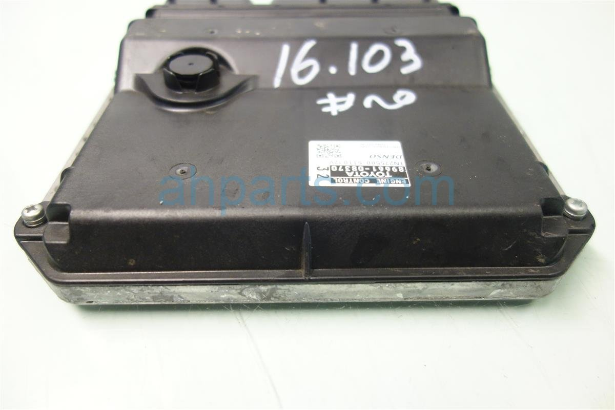 Toyota Tacoma Ecu Control Module Engine Computer Ignition Key