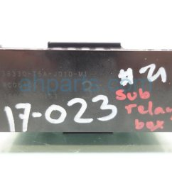 2017 acura ilx fuse sub relay box 38330 t5a j01 dodge challenger fuse box acura ilx [ 1200 x 800 Pixel ]